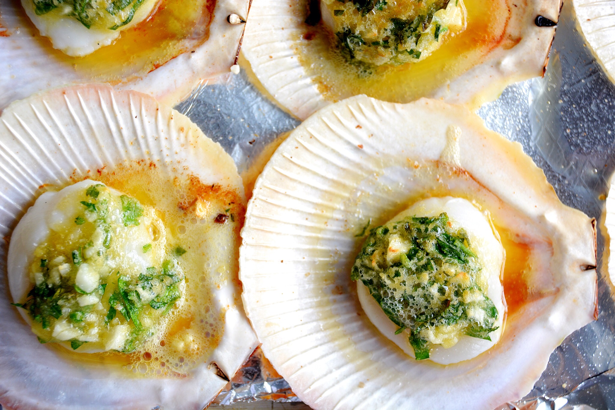 Seafood Treat: Baked Scallops