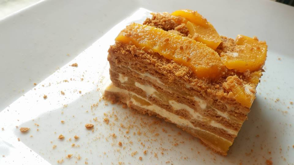 Peaches & Cream Ref Cake