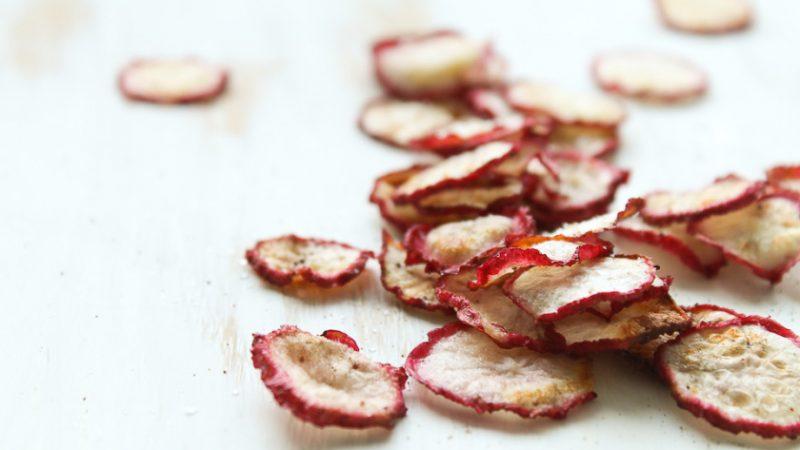 Easy to Prepare Radish Chips