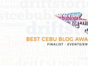 Best Cebu Blog Awards 2016