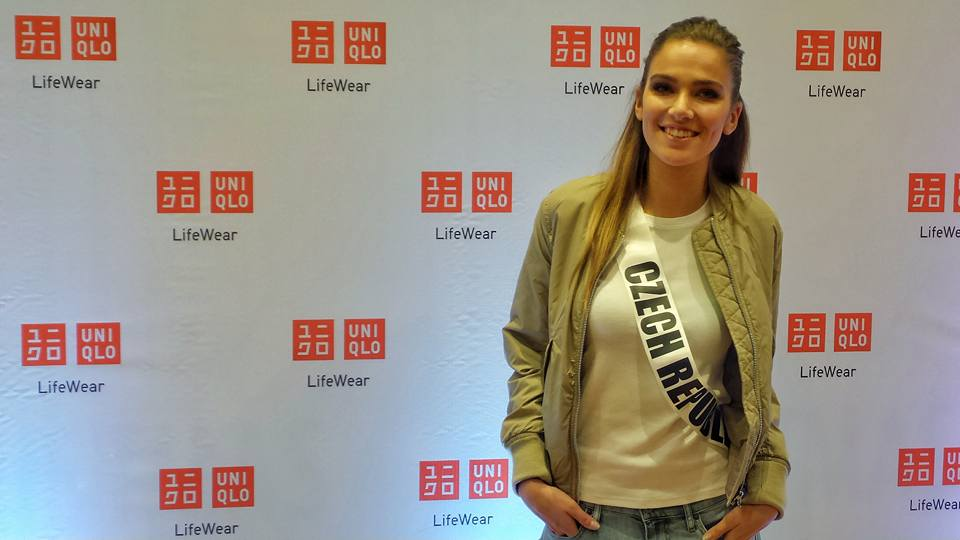 Miss Universe 2016 Uniqlo