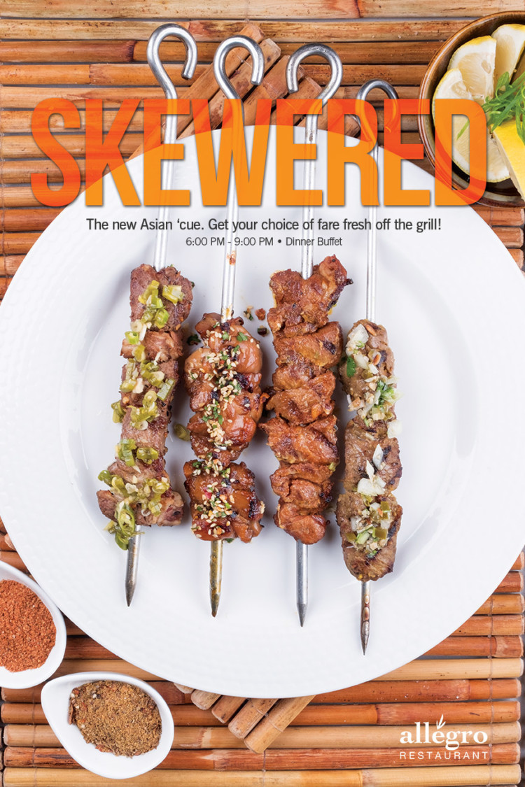Monday-Skewered
