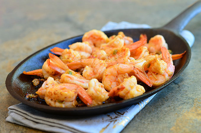 Spicy Gambas