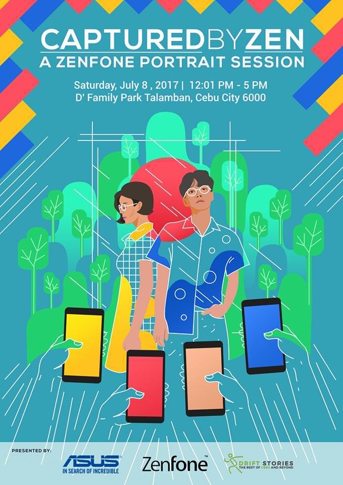 Zenfone Portrait Session Cebu