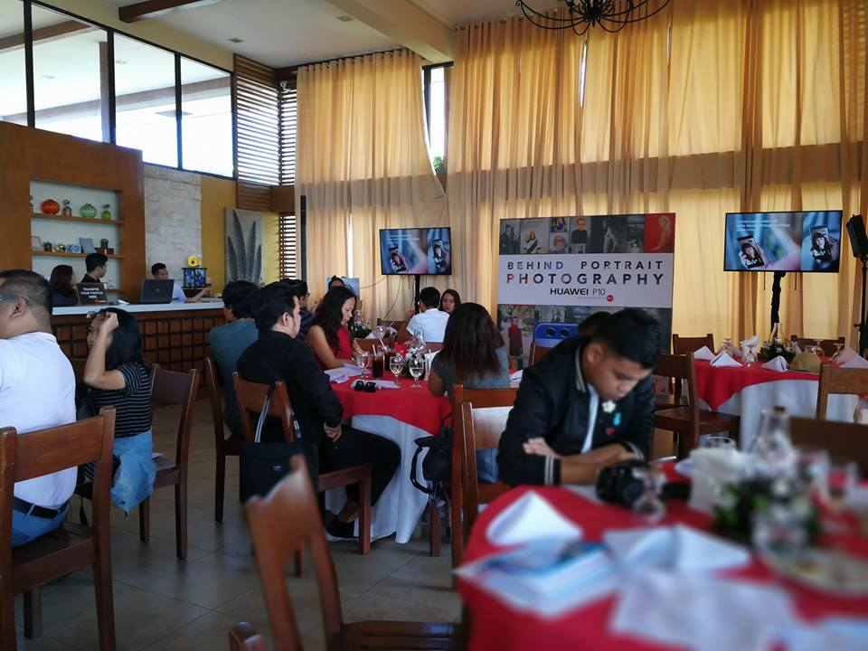 Huawei Behind Portrait Photography Cebu