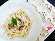 Creamy Mushroom Fettucine