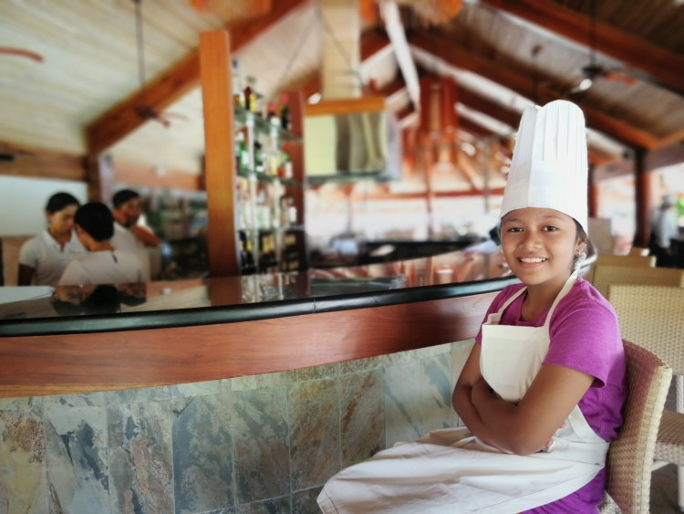 Cooking with Chef at Bluewater Panglao