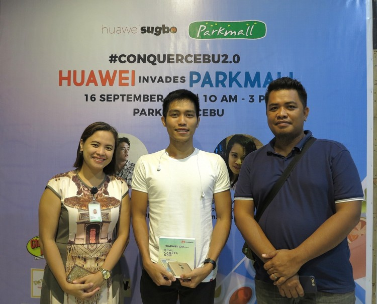 Huawei Invades Parkmall