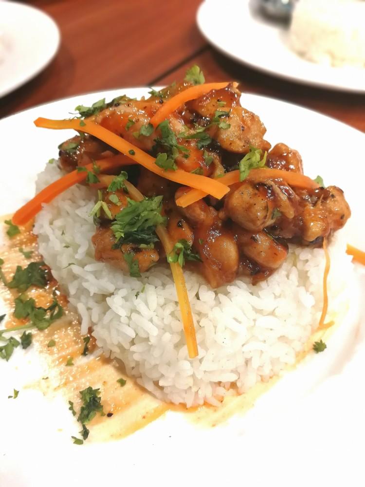 Chicken Rice Topper