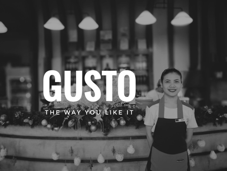 Gusto Goes Solo