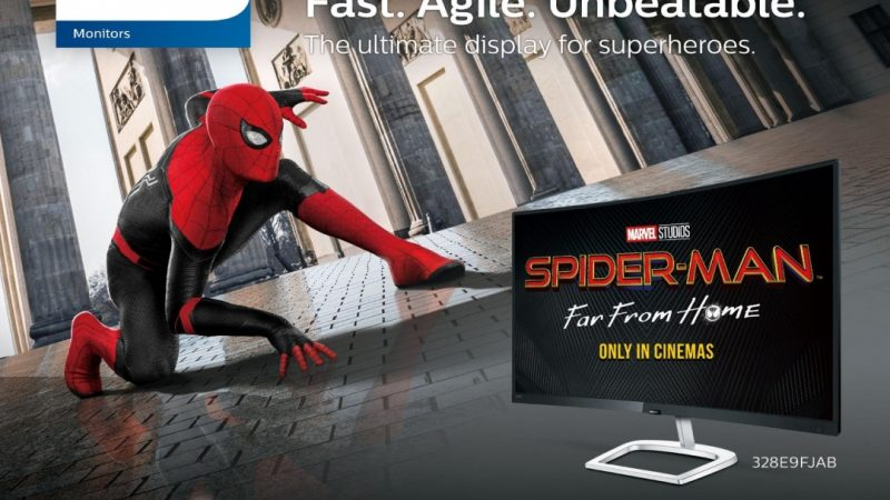 Philips Monitors X Spider Man: Far From Home