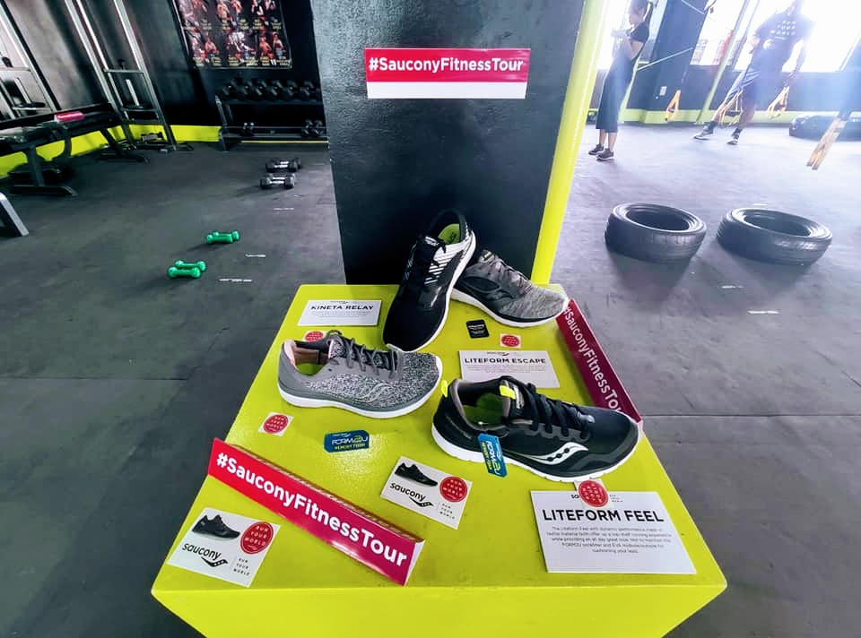 Versafoam Collection at the Saucony Fitness Tour Cebu