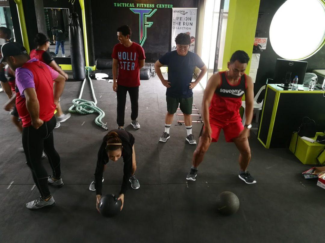 Versafoam Collection at the Saucony Fitness Tour Cebu