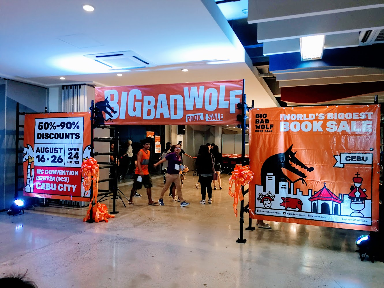 ig Bad Wolf Book Sale Cebu 2019