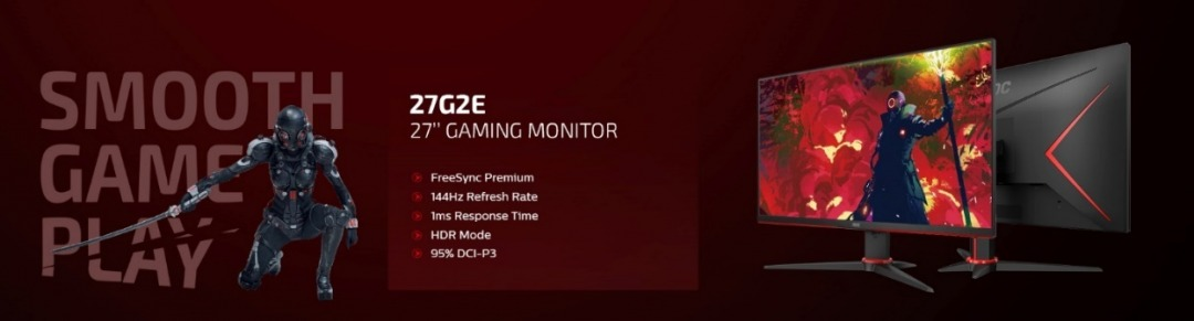 AOC Gaming G2 Series Monitors: Pre-order Now!