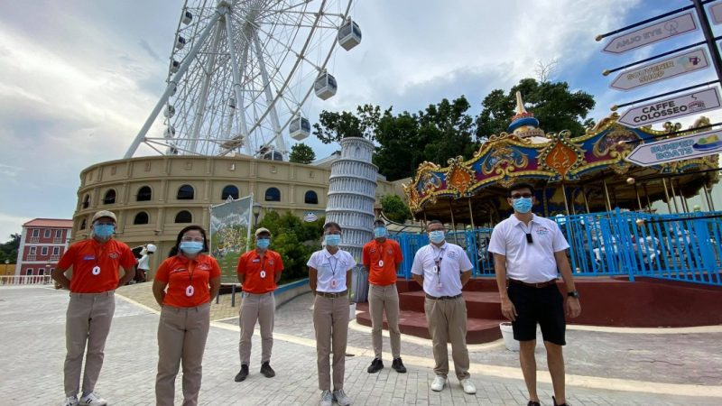 """ANJO WORLD Reopens, Adapts the """"New Normal"""" in Amusement Tourism"""