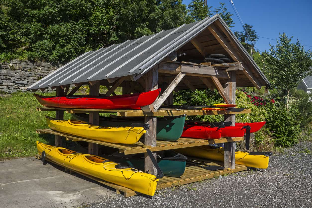 8 Different Kayak Storage Ideas (Get that thing off the ground!)
