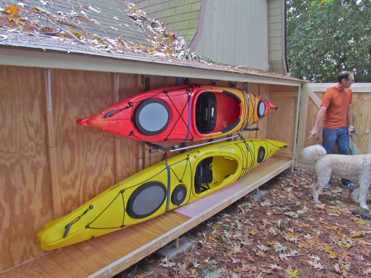 Kayak Storage | Kayak storage rack, Kayak storage, Outdoor gear storage