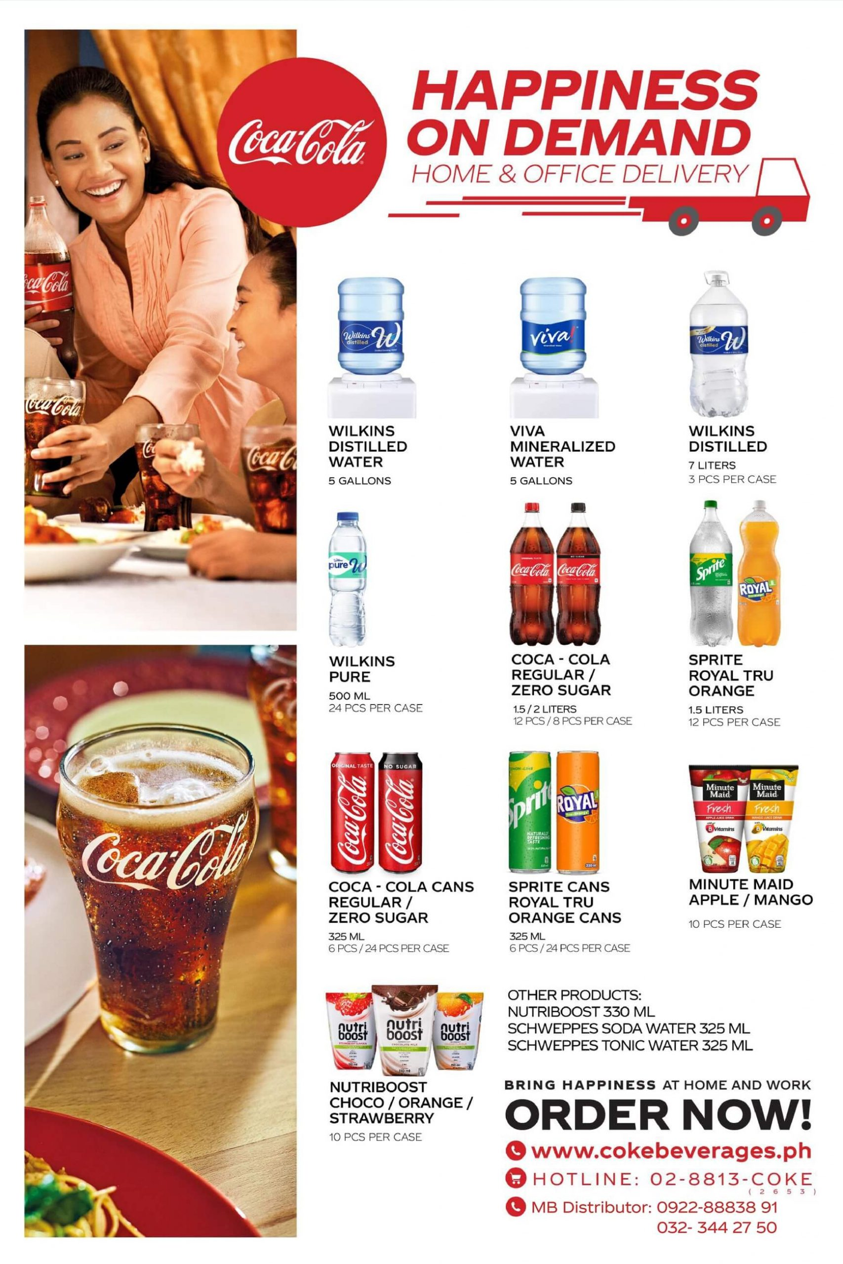 Happiness on Demand Delivery Cebu Poster