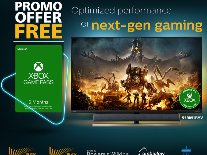 Philips Monitors Gives Out Xbox Game Passes